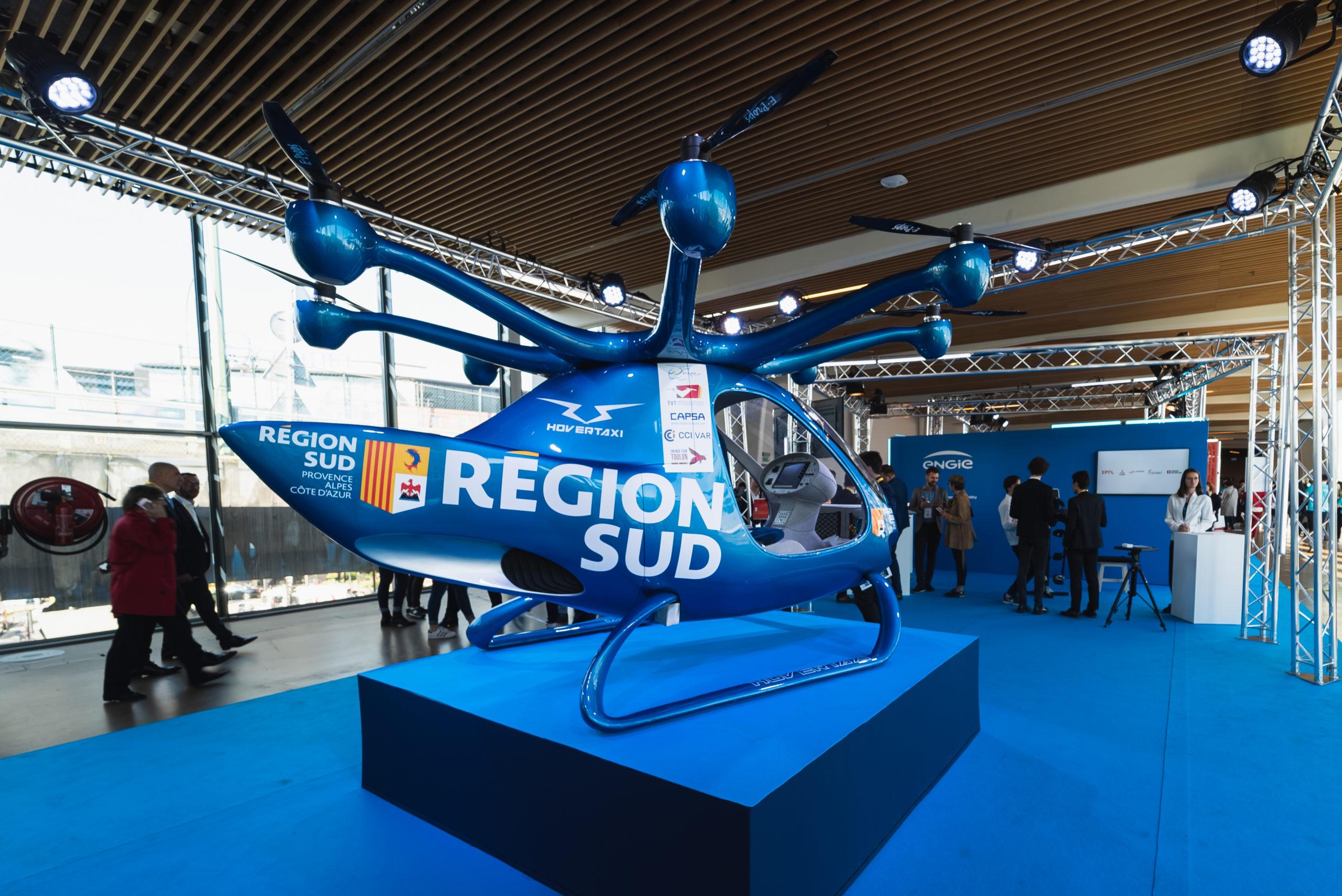 La Région Sud embarque les startups à Vivatechnology